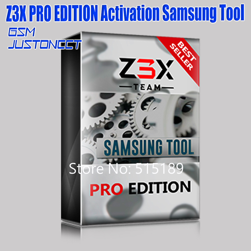 The Newest Original  Z3X PRO SET EDITION Samsung Tool Pro Activation + 4 Cables