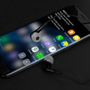 Image 5 - SAMSUNG Original écouteur EHS64 filaire 3.5mm dans loreille avec Microphone pour Samsung Galaxy S8 S8Edge Support smartphone