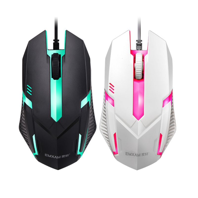 Mechanical Keyboard Waterproof Mouse Mice USB Wired Gaming Accessories For Microsoft HP LG PC Laptop Tablet  Win XP/7/8 Mac10.2