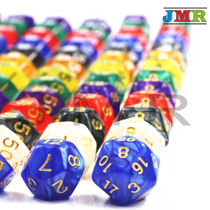 7Pcs Multi Sides Dnd Die For Playing Games Home KTV TRPG RPG Board Games,Digital Dice,Game Dice,As Present,toy Kit