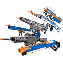 NEW Legoings AK47 Sniper Rifle Pistol Desert Eagle Model Building Blocks Children Boys Assemble Toys Bricks Guns Packs Weapons все цены