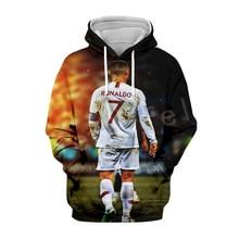 Tessffel Cristiano Ronaldo Athletes Tracksuit 3DfullPrinted Hoodie/Sweatshirt/Jacket/shirts Mens Womens hiphop fit casual style3