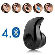 Мини беспроводные Bluetooth наушники, спортивные наушники с микрофоном, гарнитура, наушники для всех телефонов, для samsung, huawei, Xiaomi, Android
