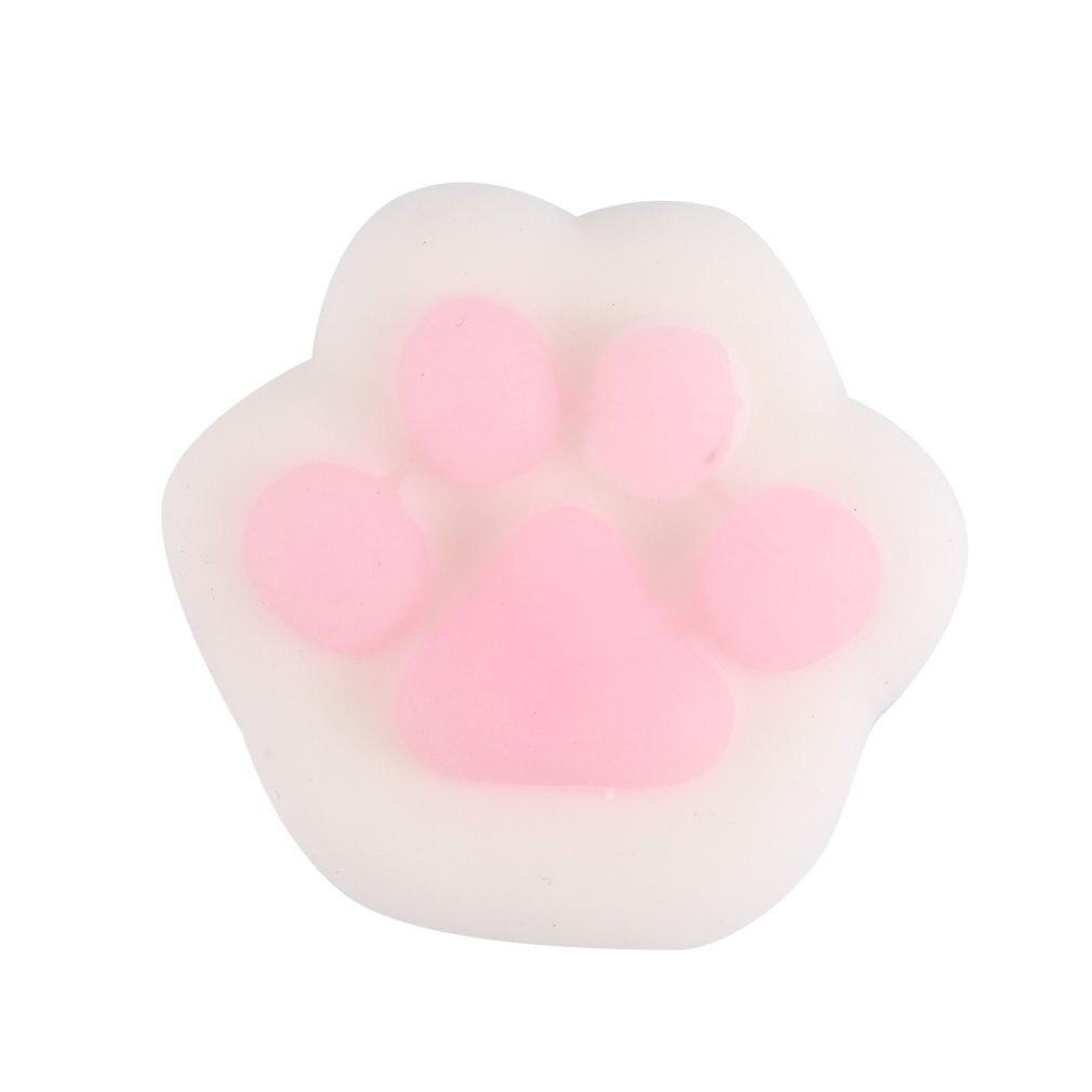 Мягкие мини мягкие игрушки для снятия стресса милые животные дизайн Skuishy Animales панда для сдавливания декомпрессии игрушки для детей и взрослых - Цвет: cat claws