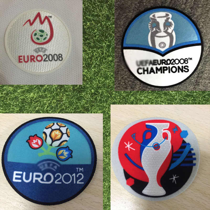 2008 2012 2016 Eur Patch Game Warmteoverdracht Voetbal Patch Badge