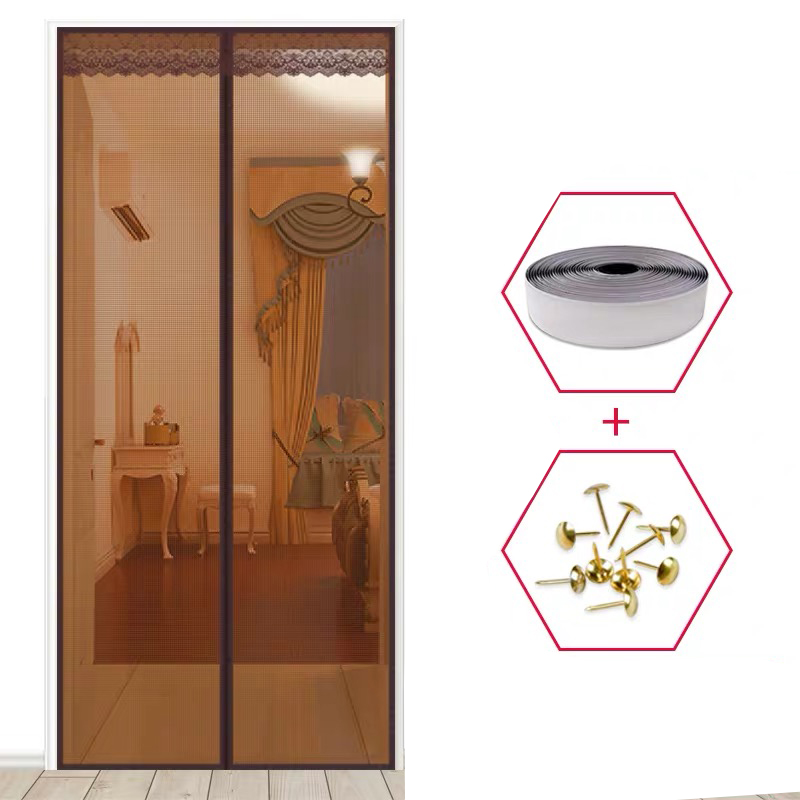 1PC High Quality Magnetic Mesh Screen Door Fly Bug Insect Mosquito Net Curtain
