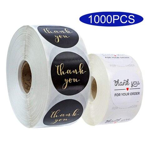 adesivo coreano artesanal bonito agradecimento selo envelope seu pedido compra de negocios kawaii papelaria decoracao