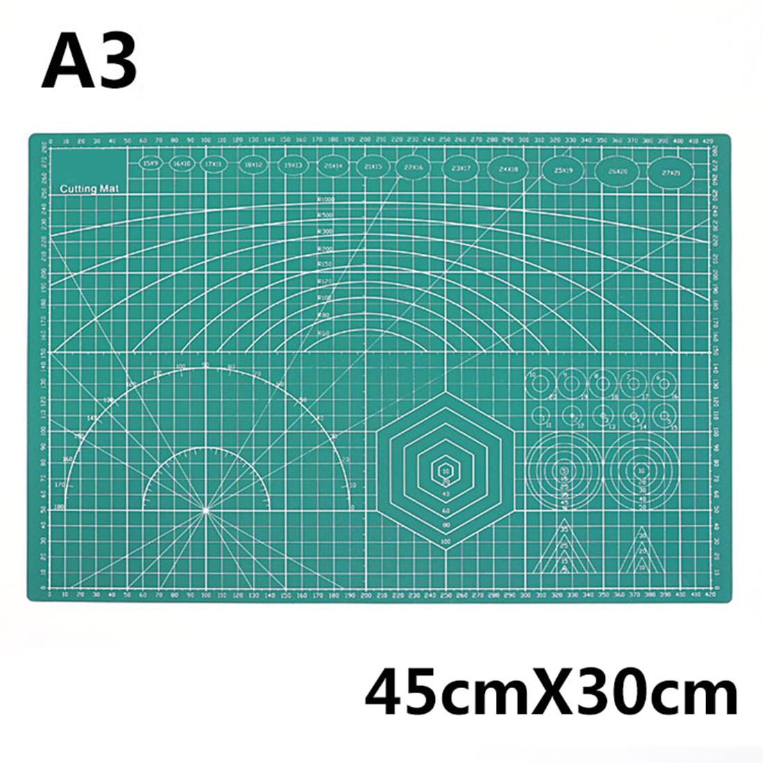 MODIKER Multifunctional Model Cutting Mat Self Healing Cutting Pad PVC A3 A4 A5 Cutting Board Water Gel Blaster Modification
