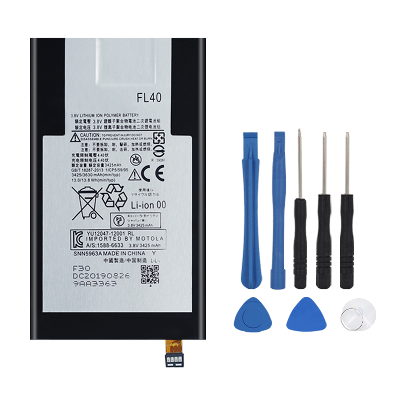 1x 3630mAh Replacement Battery FL40 For Motorola Moto X 3A Moto X Play Dual XT1543 XT1544 XT1560 XT1561 XT1562 XT1563 XT1565