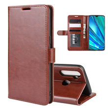 For OPPO Realme 5 Case Wallet Style Leather Mobile Protective Back Cover For OPP
