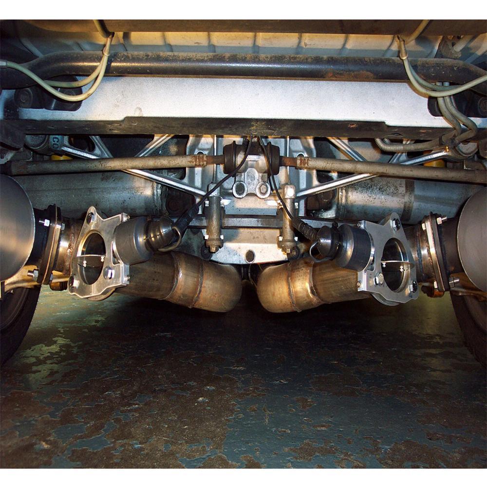 Universal Power Exhaust Shutoff Valve Kit Electronic Control System