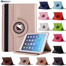For iPad 9.7 2018 2017 Case Cover for iPad Air 2 Air 1 Case 5 6 5th 6th Generation Funda 360 Degree Rotating Leather Smart Coque 360 degree rotating leather flower flag cover for apple ipad new ipad 9 7 2017 2018 air 1 2 5 6 5th 6th generation case funda