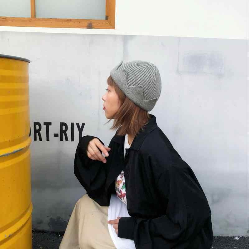ريفرديل ساوثسايد جديد حار قبعة تأثيري الشتاء الدافئة قبعة صغيرة موضوع الحصري تاج محبوك قبعة مطرزة قبة