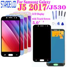 Dla SAMSUNG Galaxy J5 2017 J530F SM-J530F J530 wyświetlacz LCD ekran dotykowy Digitizer J530 wyświetlacz dla Galaxy j5 Pro lcd tanie tanio CN (pochodzenie) Pojemnościowy ekran 1920x1080 3 LCD i ekran dotykowy Digitizer 1920*1080 5 0 Black gold blue pink