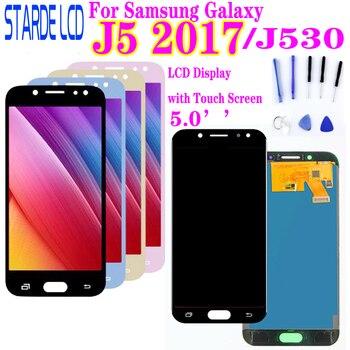 For SAMSUNG Galaxy J5 2017 J530F SM-J530F J530 LCD Display Touch Screen Digitizer J530 Display For Galaxy j5 Pro lcd 100% tested lcd for samsung galaxy j530 lcd j5 2017 display touch screen lcd digitizer assembly for samsung j530f j5 pro 2017