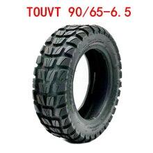 11 дюймов бескамерная Резина шины электрический самокат п 90/65-6,5 толстые шин для наружной плитки вакуумный внедорожные шины аксессуары для с...