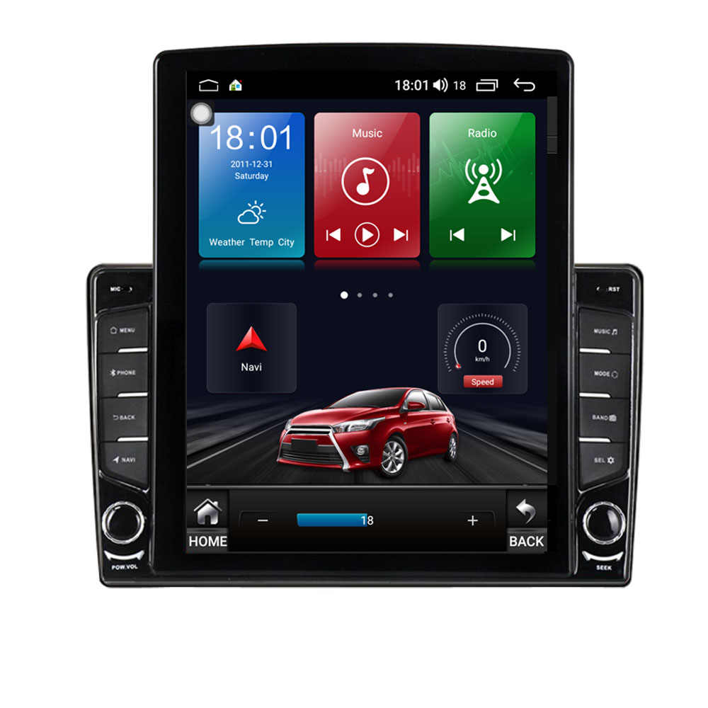 "9.7 ""Android 10.1 Voor Kia Sorento 2013 2014 Tesla Type Auto Radio Multimedia Video Player Navigatie Gps Rds Geen dvd"