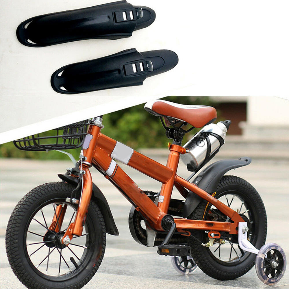 1 Pair Kid Bicycle Mudguard Front Rear Dustproof For 12/14/16inch Children Bike