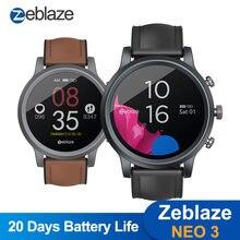 2020 neue Zeblaze NEO 3 Stilvolle Smart Uhr IP67 Wasser & Staub Proof Smartwatch 20 tage Batterie Lebensdauer Gesundheit & fitness Tracker