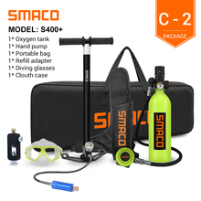 Cylinder Scuba-Diving-Tank-Equipment Mini SMACO with 16-Minutes Capability-1 S400plus