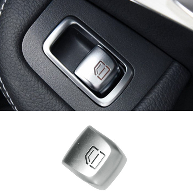 NEW-Window Switch Repair Button Cover Cap For Mercedes Benz C Class W205 E Class S Class Car Switches Relays Interior Parts
