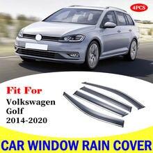 Защита от дождя для окна автомобиля volkswagen golf 2014 2020