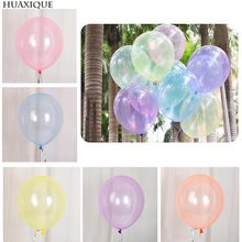12inch Crystal Bubble Balloons Clear Transparent Latex Pearl Latex Balloon Wedding Birthday Party Decor Kids helium globa