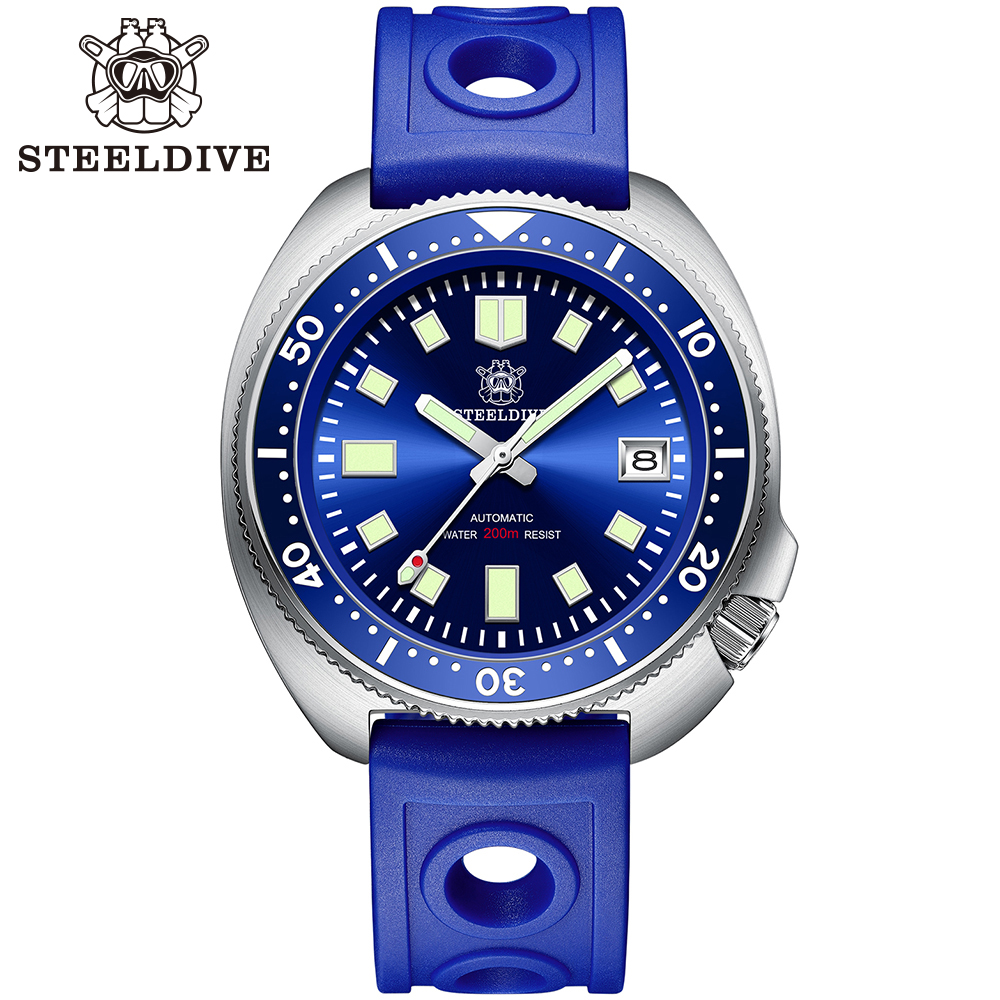 H911c67a2895b486ab5e15dc1554b14d5r SD1970 Steeldive Brand 44MM Men NH35 Dive Watch with Ceramic Bezel