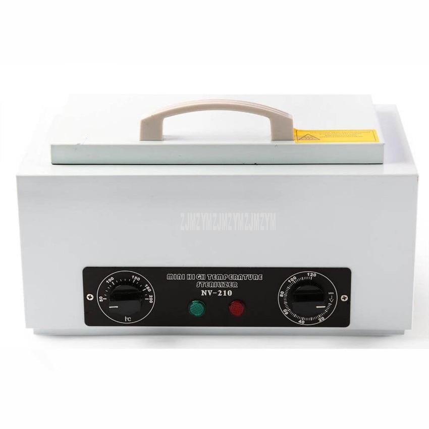 1.5L Portable Mini High Temperature Sterilizer Towel Manicure Tools Disinfection Cabinet Sterilization Cleaning Appliances NV210