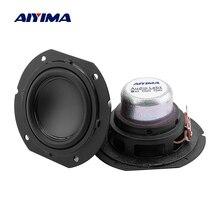AIYIMA 2 шт. 2 дюймовый полный диапазон динамик 4 Ом 20 Вт большой ход звуковой динамик s драйвер Неодимовый DIY 2,0 2,1 спутниковый громкий динамик