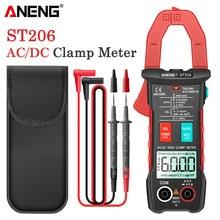 Amperímetro digital aneng st206, medidor de corrente alternada dc/ac de 6000 voltímetro