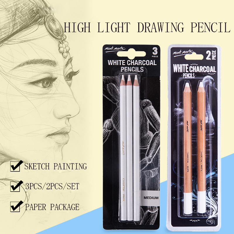 1*Sketch Pencil Professional Panting Drawing Pencil Chalk Non-toxic Charcoal Pen