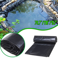 Thicken Waterproof Liner Film Fish Pond Liner Garden Pool Reinforced HDPE Heavy Duty Landscaping Pool Pond Liner Cloth Fabrics