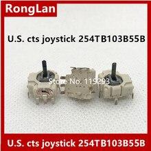 [BELLA]U.S. cts joystick potentiometer 254TB103B55B PSV rocker mini rocker eclipse With press switch three dedicated--10PCS/LOT