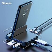 Baseus док-станция type C для samsung S10 S9 Dex Pad станция USB C к HDMI док-станция адаптер питания для huawei P30 P20 Pro