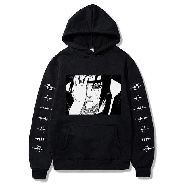 2020 fashion naruto Hoodies Streetwear itachi pullover Sweatshirt Men Fashion autumn winter Hip Hop hoodie pullover