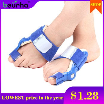 1pc Foot Big Toe Thumb Bunion Corrector Splint Toe Straightener Foot Pain Relief Hallux Valgus Thumb Correction Day or night use