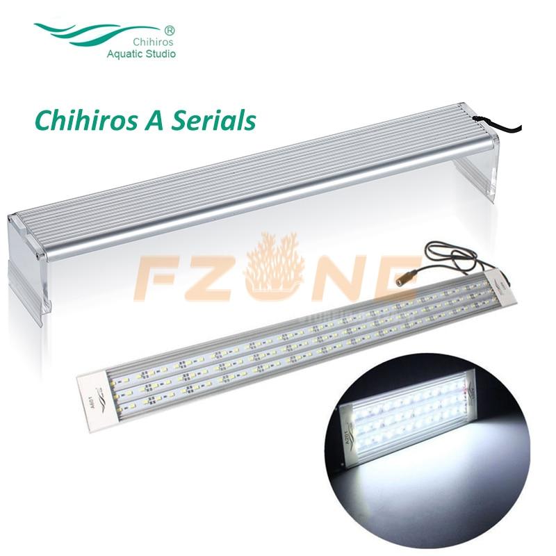 Chihiros UMA Série Tampa Do Tanque de Peixes de Luz Conduziu a Iluminação Do Aquário Plantas Que Crescem Em Cima 5730 Lâmpada LED com Dimmer Controlador
