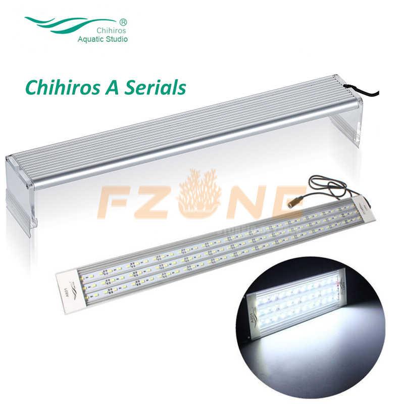 Chihiros seria oświetlenie Led do akwarium rośliny rosnące pokrywka światło do akwarium napowietrznych 5730 LED lampa z sterownik ściemniacza