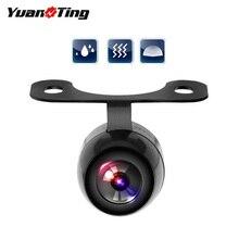 YuanTing Автомобильный задний светодиод фронтальная камера заднего вида 170 градусов широкоугольный Водонепроницаемый Без направляющей линии Датчик Автоматической парковки системы