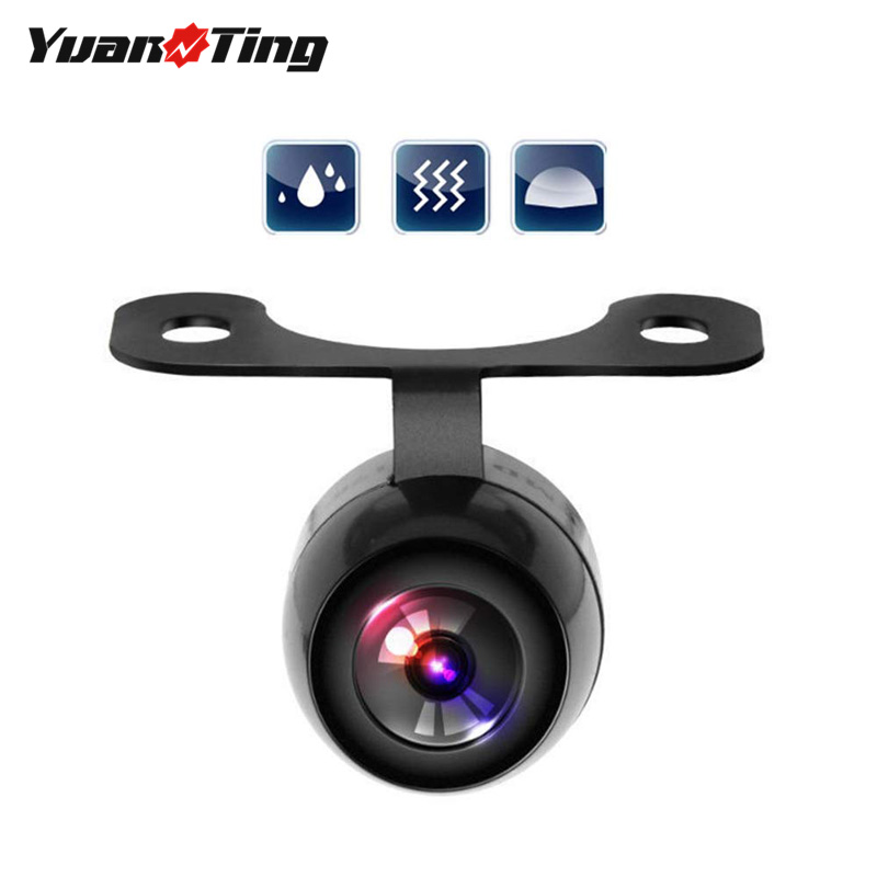 YuanTing Car Backup CCD Front Rear View Camera 170 Degree Wide Angle Waterproof Waterproof title=