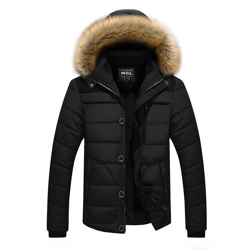 Winter Jacket Men Camperas Hombre Invierno Nice Warm Waded Jacket Clothes Fleece Hoodies Parka  Roupas Jaqueta Masculina Inverno