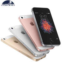 """Original Unlocked Apple iPhone SE 4G LTE Mobile Phone iOS Touch ID Chip A9 Dual Core 2G RAM 16/64GB ROM 4.0""""12.0MP Smartphone"""