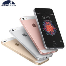 Originele Unlocked Apple Iphone Se 4G Lte Mobiele Telefoon Ios Touch Id Chip A9 Dual Core 2G Ram 16/64Gb Rom 4.0