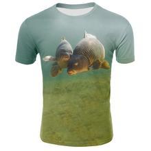 2019 New carp tshirt Men t shirt 3d t-