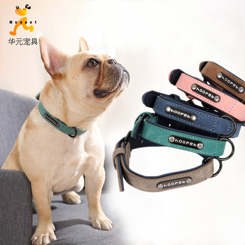 Pet Collar Scarf Nursing Traction Hoopet Pet Currently Available Wholesale Dog Fashion Double Layer Pet Collar