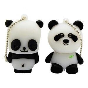 Image 1 - TEXT ME cartoon animal USB Flash Drive mini lovely Panda pen drive special gift cartoon