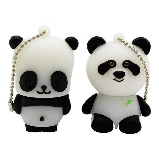 TEXT ME cartoon animal USB Flash Drive mini lovely Panda pen drive special gift cartoon