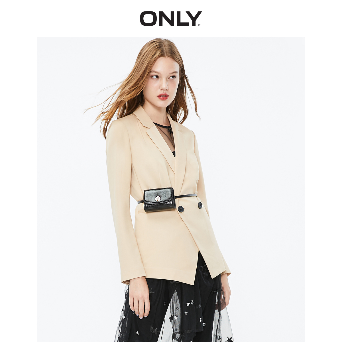 ONLY Women's  Pure Color Thin Blazer   119308515