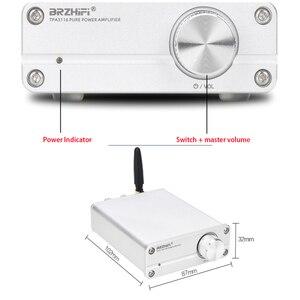 Image 4 - KYYSLB TPA3116 מיני 5.0 Bluetooth מגבר DC12 ~ 24v 100W * 2 QCC3003 חום HIFI סטריאו בית אודיו דיגיטלי מגבר 4 ~ 8 אירו